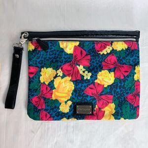 Betsey Johnson Large Wristlet Floral Bag